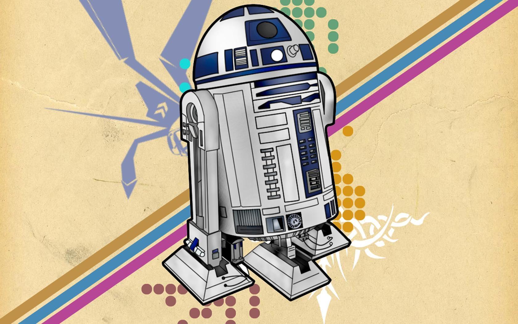 WallE RD Star Wars Robots Cartoon Art Wallpaper 1000x1000 R2d2 41 Wallpapers