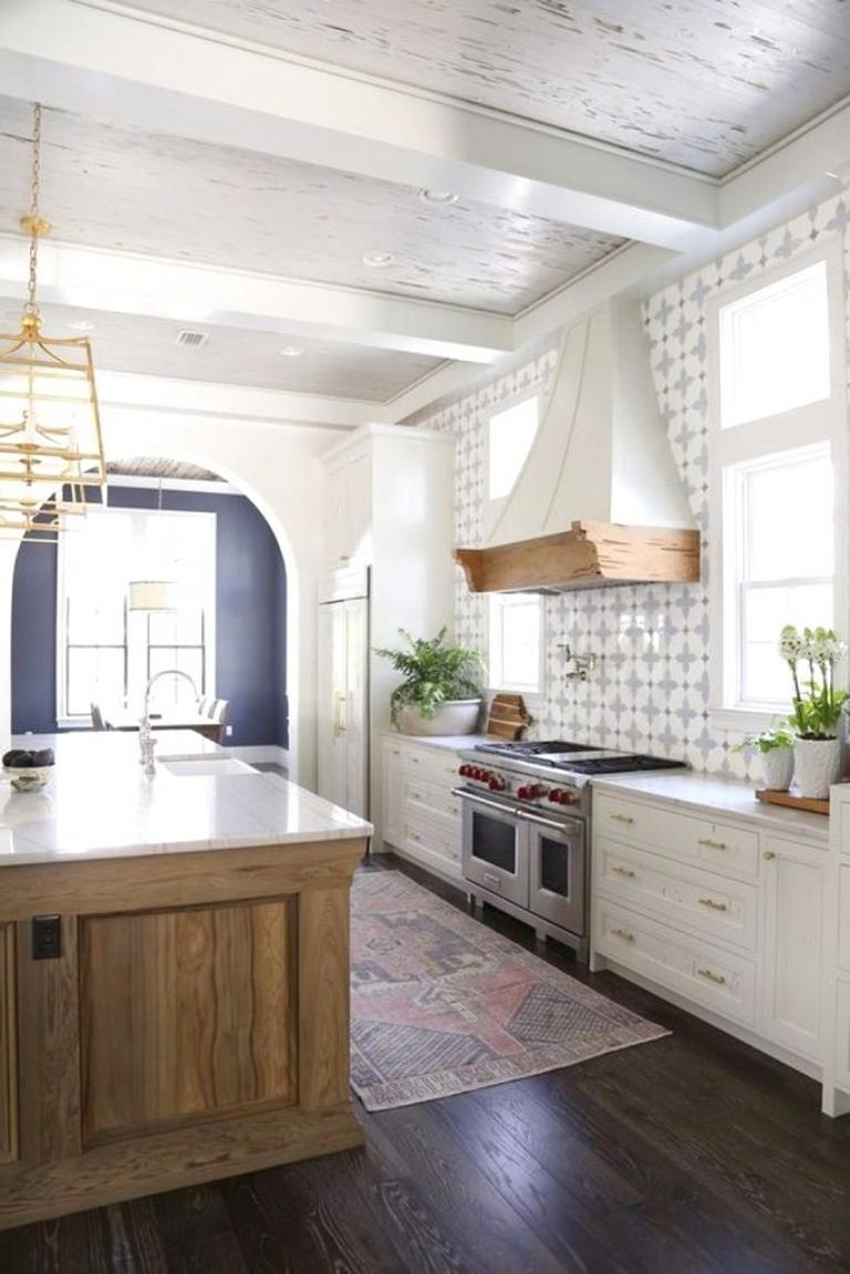 40 farmhouse kitchen backsplash ideas kitchen design