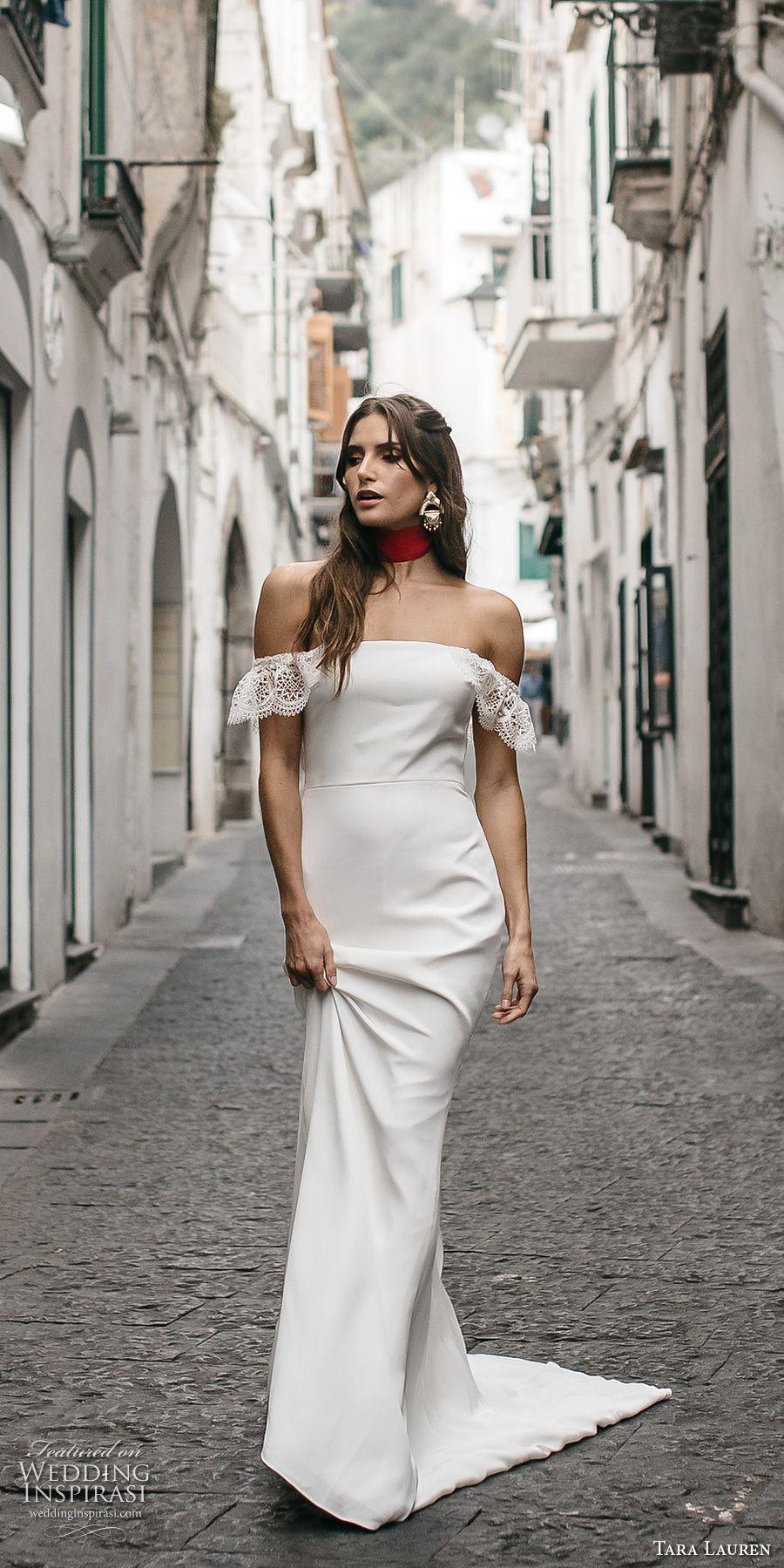 Straight Trumpet Wedding Dress
