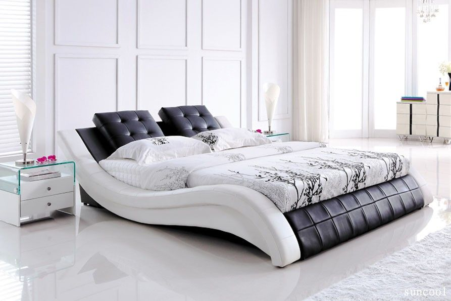 Sick bed frame cute home ideas leather bed frame - Cool queen bed frames ...