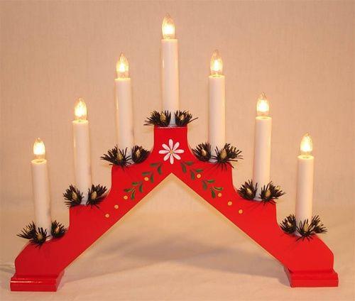 Swedish Candelabra Swedish Christmas Decorations Scandinavian Christmas Decorations Sweden Christmas