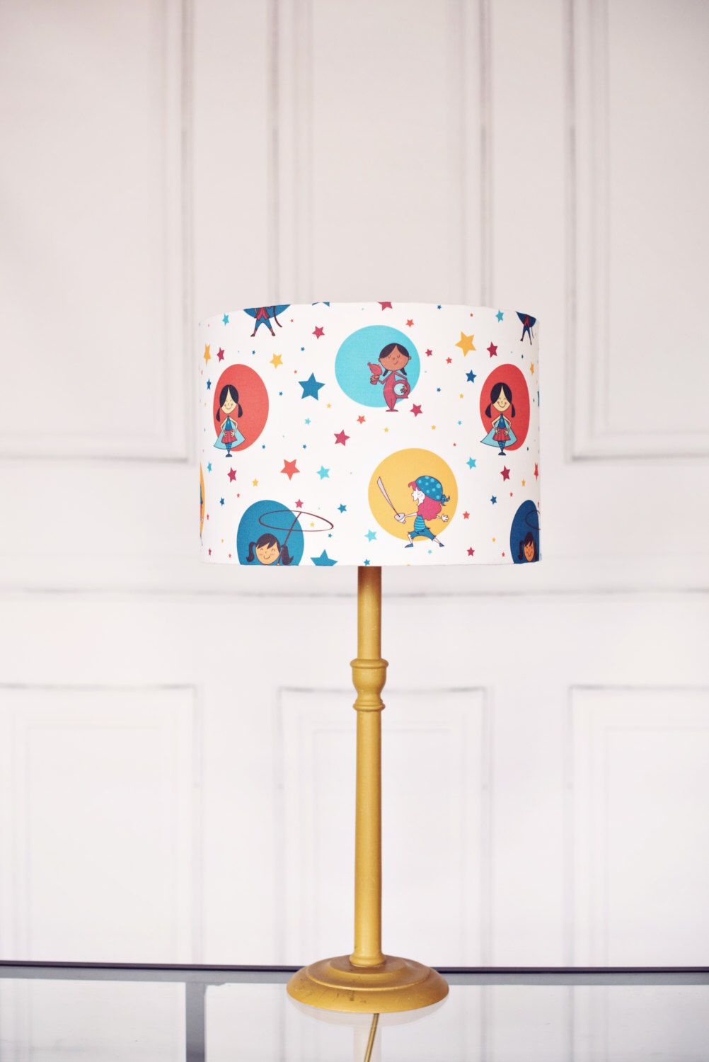 Nursery Lighting Lampshade S Handmade Lamp