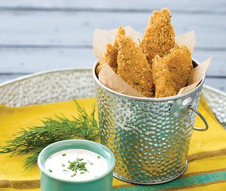 Cornflake-Crusted Chicken Tenders
