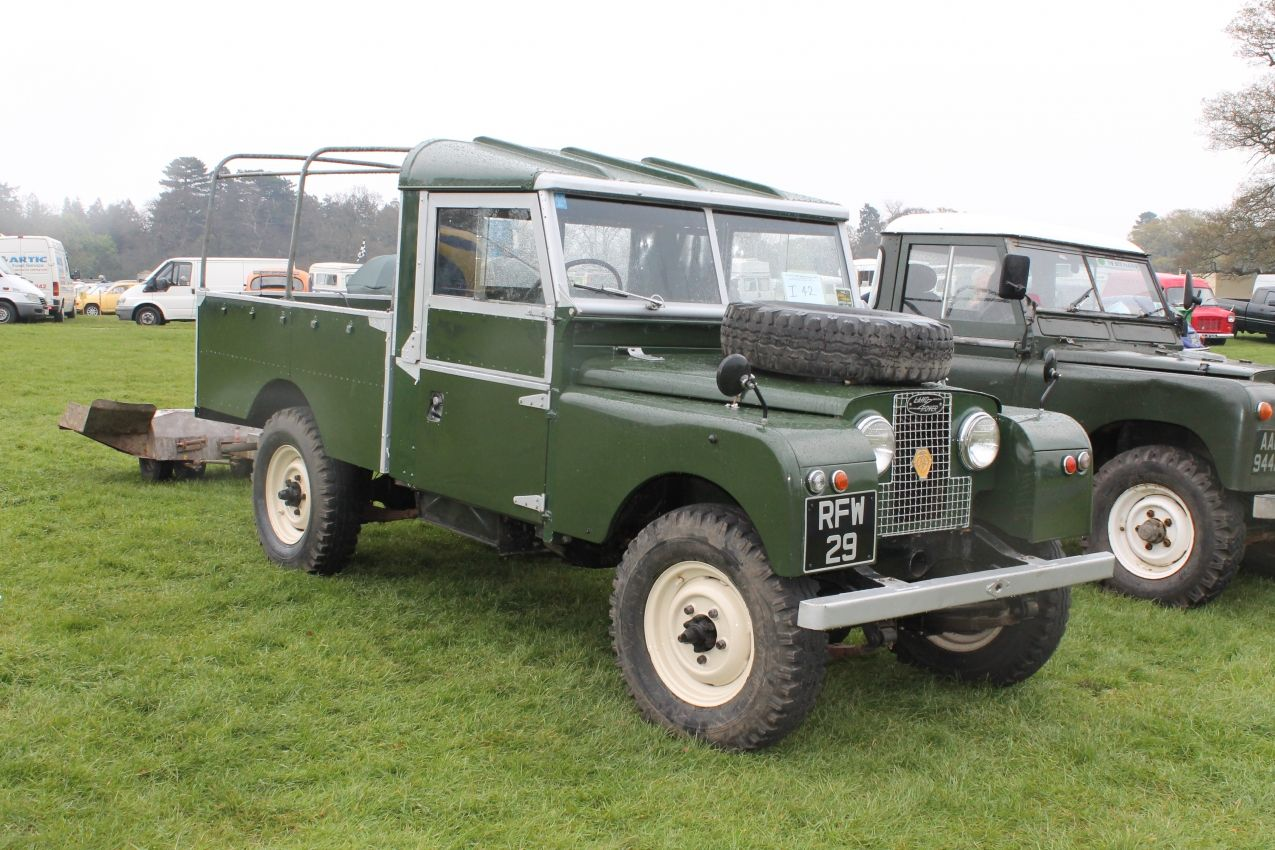 Land rover series 1 109 rfw 29