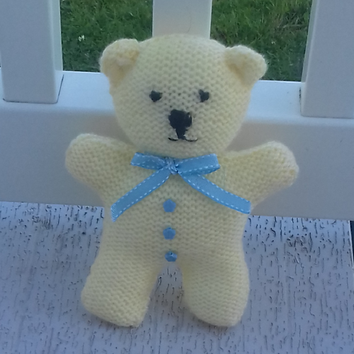 Ravelry: Little Lemon Teddy Bear pattern by Esther Kate ...