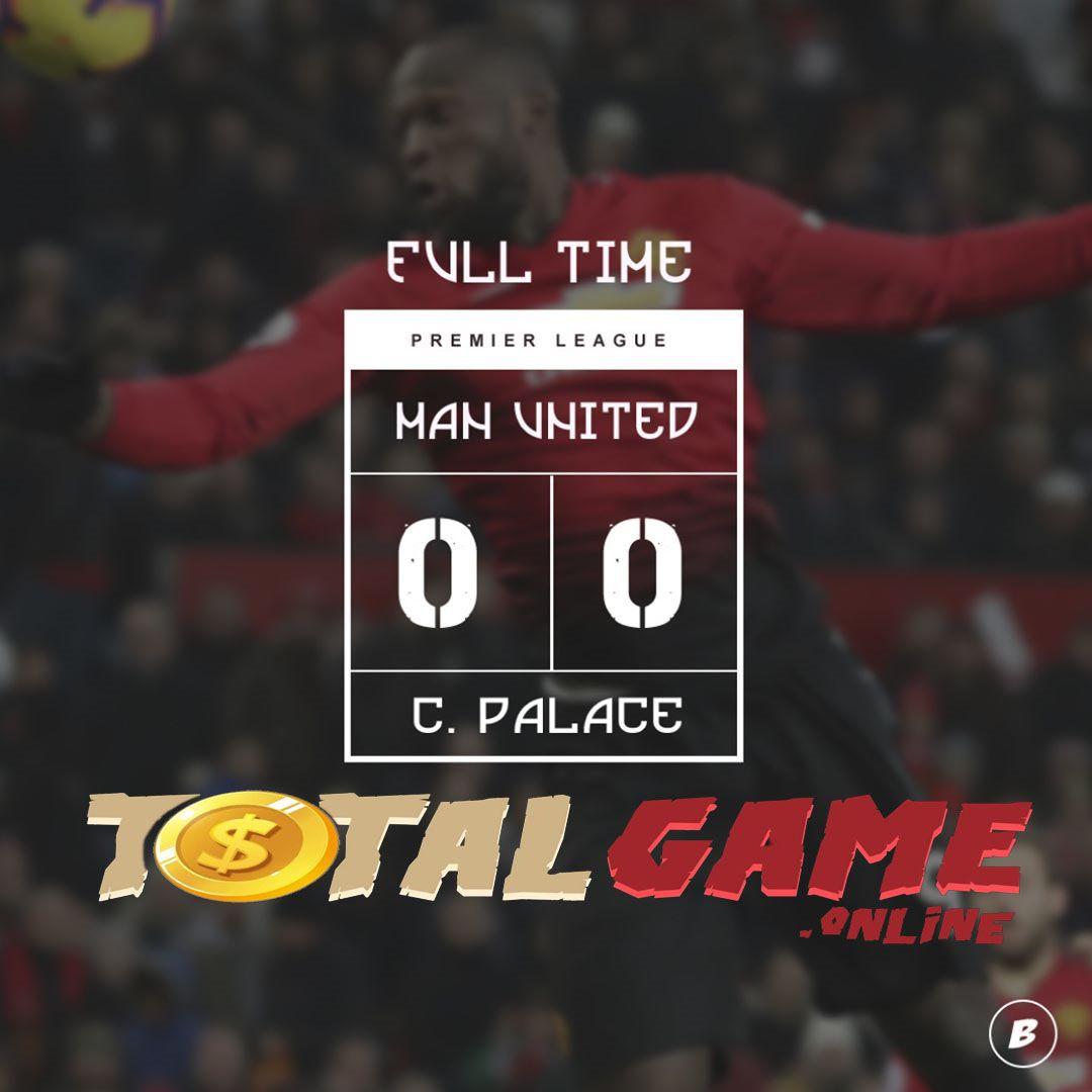 TOTALGAME FT Manchester United 0 0 Crystal Palace Hubungi