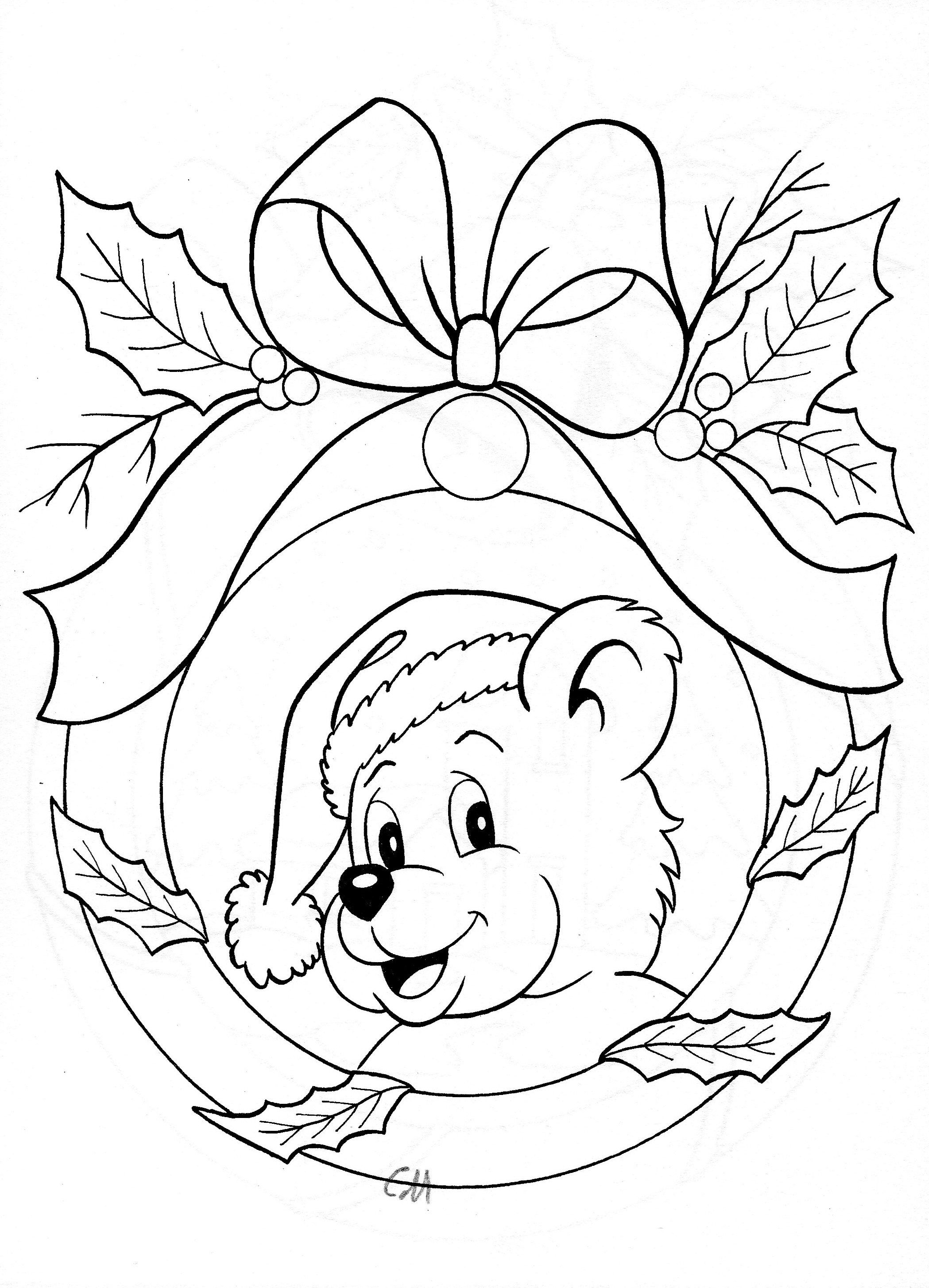 Great for an ornament | pergamino | Pinterest | Christmas coloring ...