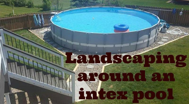 Outdoor Oasis Part 2 Intex Pool Intex Pool Pool Outdoor Oasis
