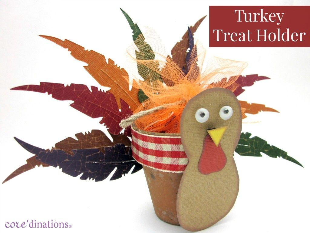 Turkey Treat Holders for Thanksgiving from Core'dinations