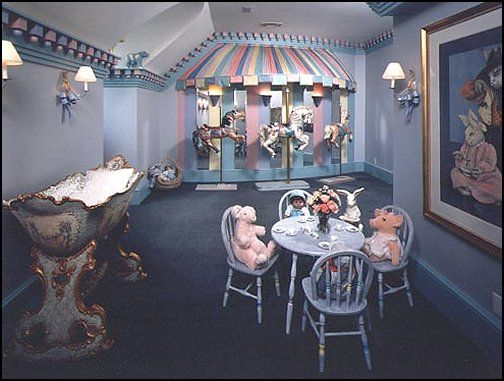 Carousel Theme Bedroom Decorating Ideas And Carousel Horse