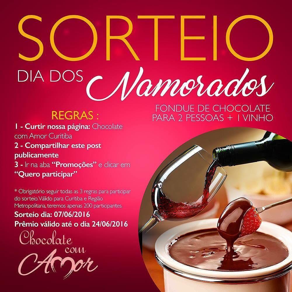 Viva o amor! Isso merece um noite especial!!! Participe!!! #diadosnamorados #valentineday #love #amor #presentes #presenteparanamorada #gift #fondue #vinho #wine by chocolate_com_amor