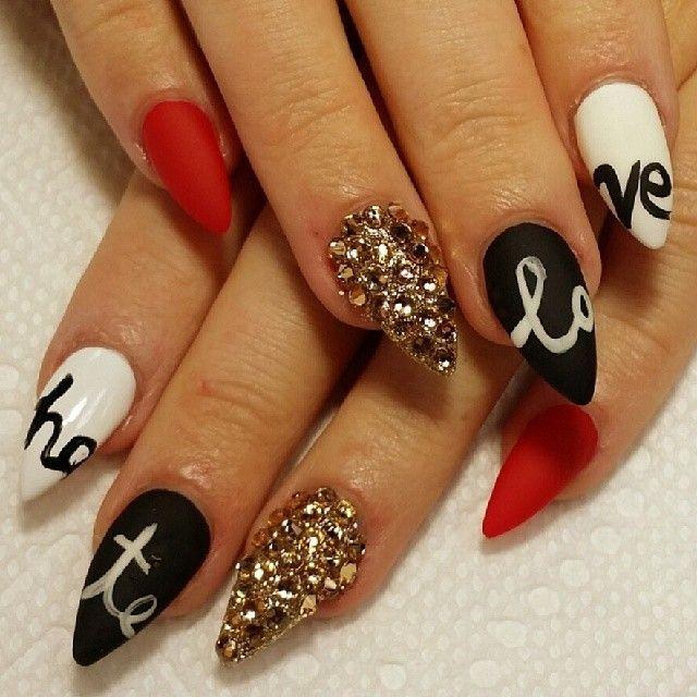 Red Lip Fantasy | Nails | Pinterest | Lips, Nail nail and Makeup