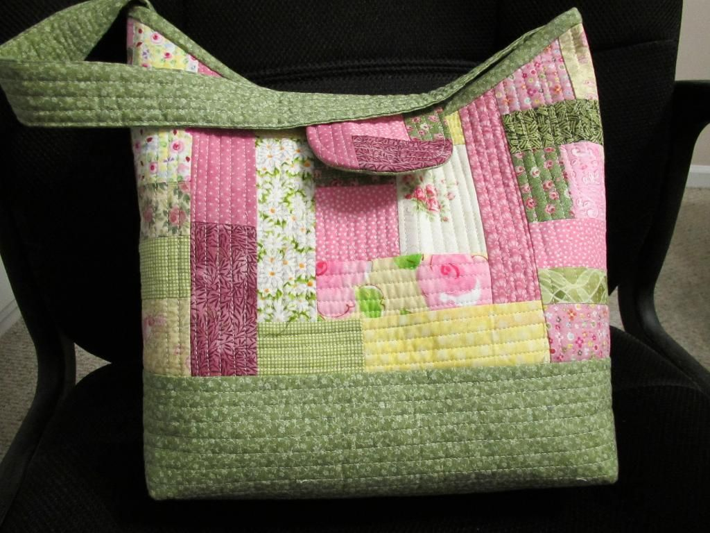 Quilt-As-You-Go Patchwork Bags | Patchwork bags, Purse and Patchwork : how to make quilted tote bags - Adamdwight.com