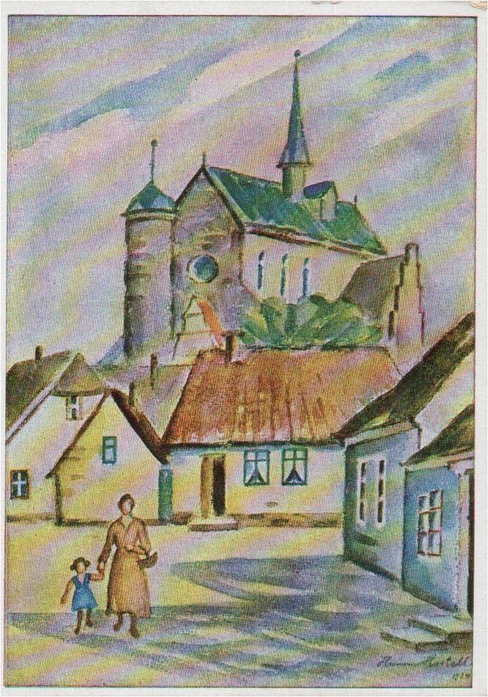 163 845 Nordmark Hadersleben Kunstler Ak Hanna Hertell Denmark Ebay Og Welt