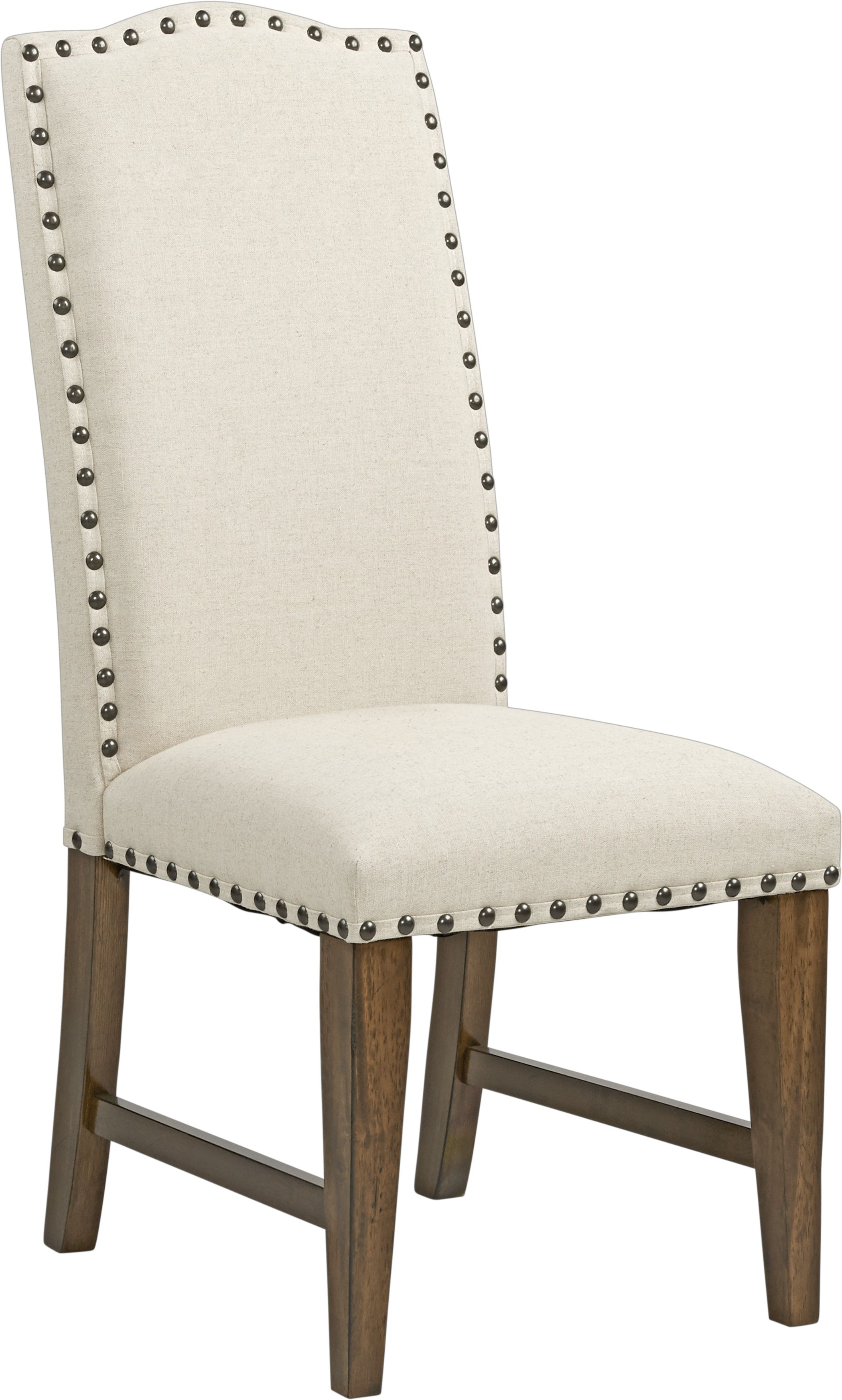 Industrial Court Oatmeal Side Chair With Images Chair