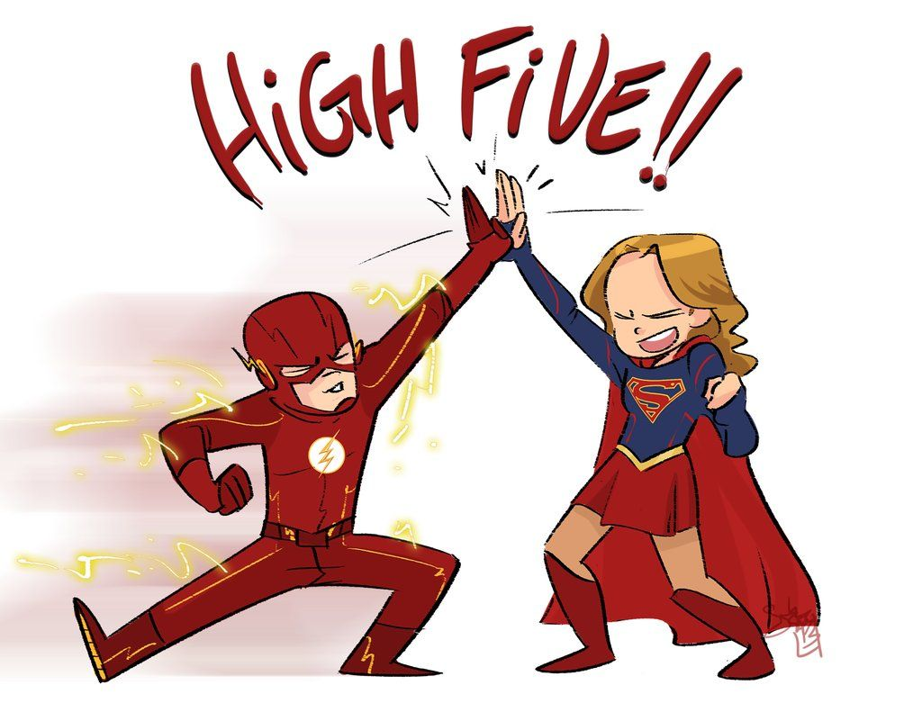 Fan Art Friday #73 – SUPERGIRL x THE FLASH Crossover Art ...