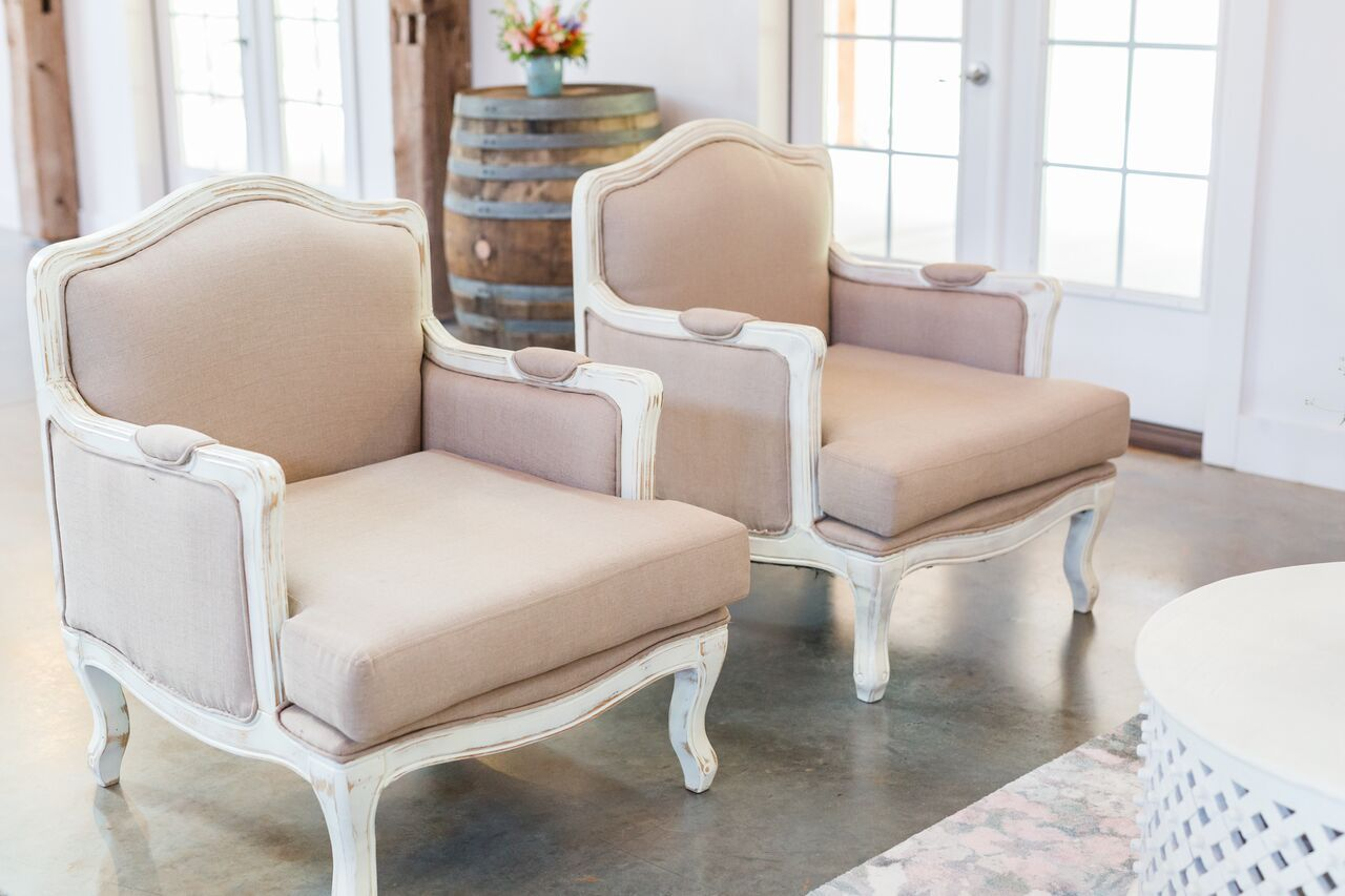 Cottage Luxe Boutique Event Rentals Raleigh - Mimi Chair at The