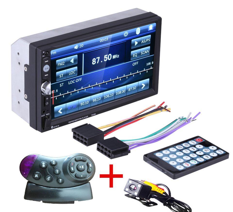 2 Din Voiture Generale Modeles 7 Pouces Lcd Tactile Ecran Voiture Radio Lecteur Bluetooth Audio De Voiture Vue Arriere C Car Bluetooth Radio Player Car Radio