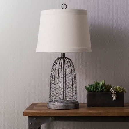 Livia Greys Metal Wire Table Lamp Base Table Lamps Habitatuk Table Lamp Base Lamp Bases Wire Table