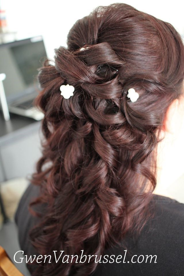 Coiffeuse Maquilleuse Mariage Gwen Vanbrussel Coiffure Coiffure Mariee Maquillage Mariage