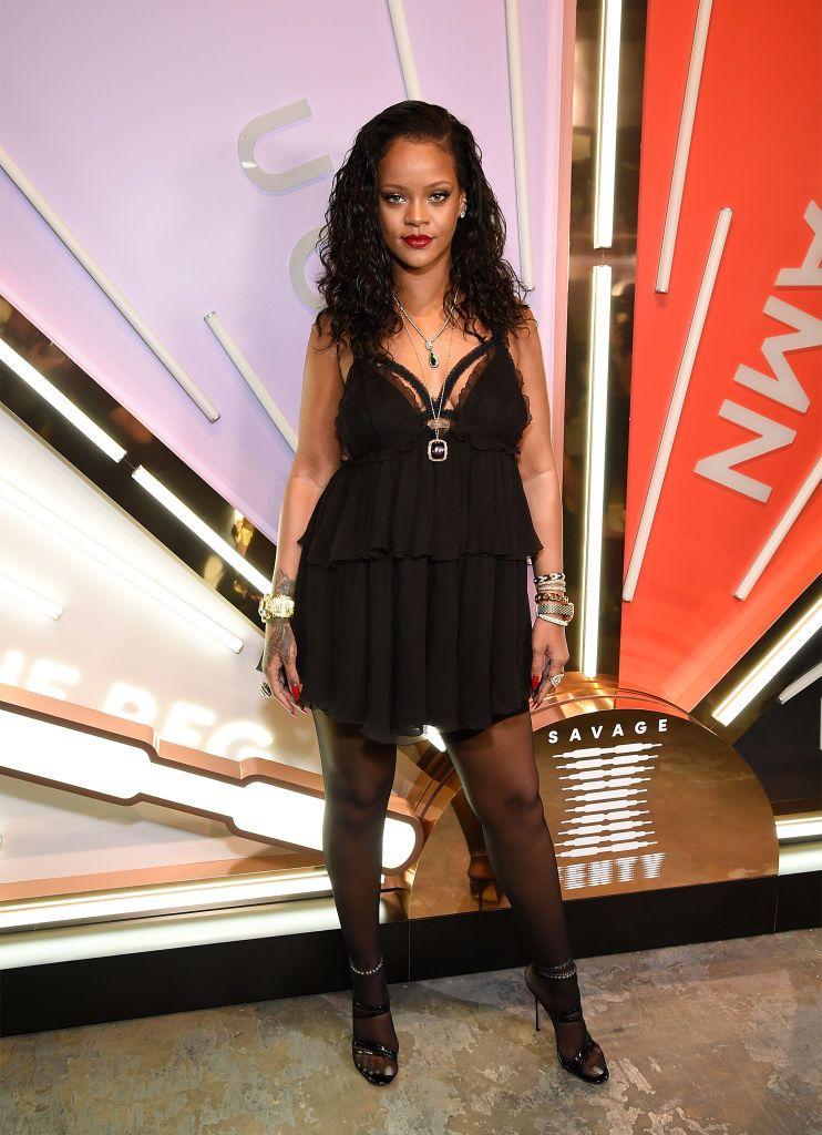 80f0ee034 Rihanna In Tom Ford – Savage X Fenty Global Launch