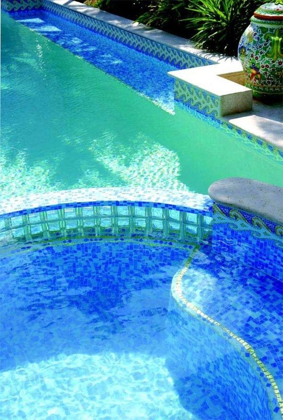 Mosaic Swimming Poolwow By Gril Modern Pools Schwimmteich
