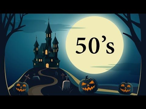 13 Halloween Songs from the 50's – Full Song Playlist - YouTube ...