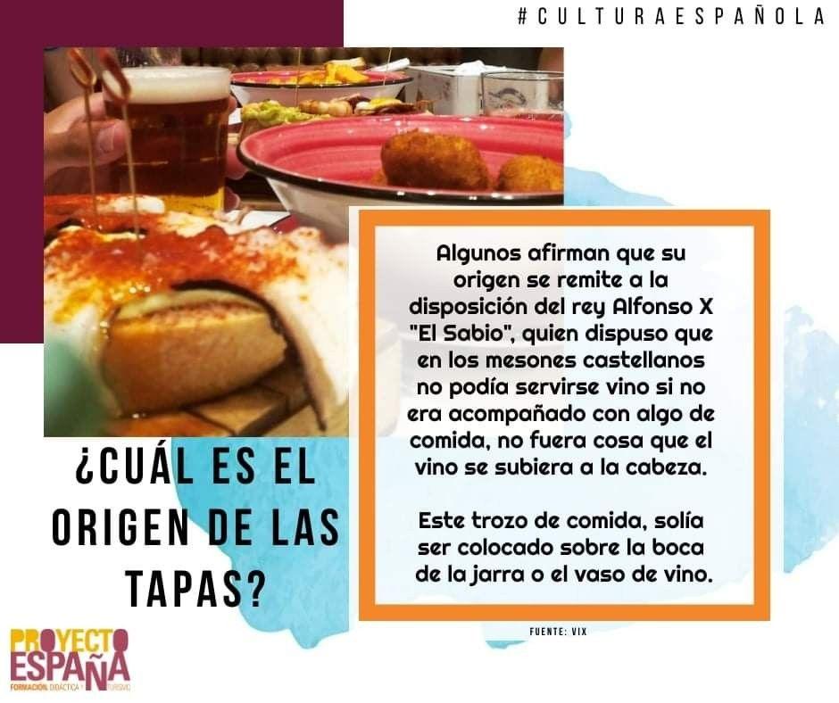 Pin De Spagnoleggiando En Cultura Y Curiosidades Comida Cultura Española En Castellano