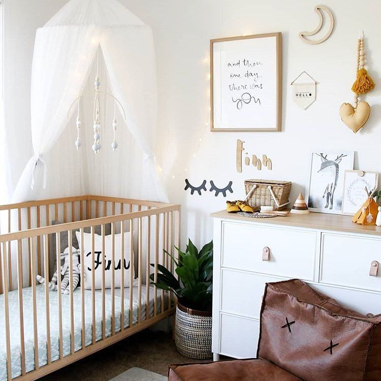 What A Beautiful Nursery By Lilah And Co Including So Many Stunning Brands One Of Our Small Fabric Banners Make Sure You Pop Over To