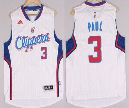 a3db1ae99 Los Angeles Clippers  3 Chris Paul Revolution 30 Swingman 2014 New White  Jersey