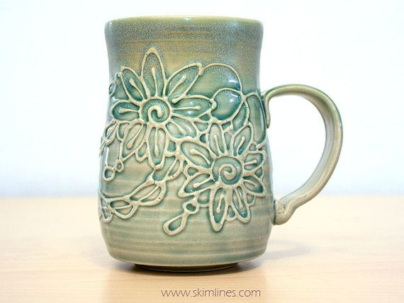 I've opened an etsy to list my handmade ceramic cups. https://www.etsy.com/listing/223145017/glossy-green-celadon-and-matte-green