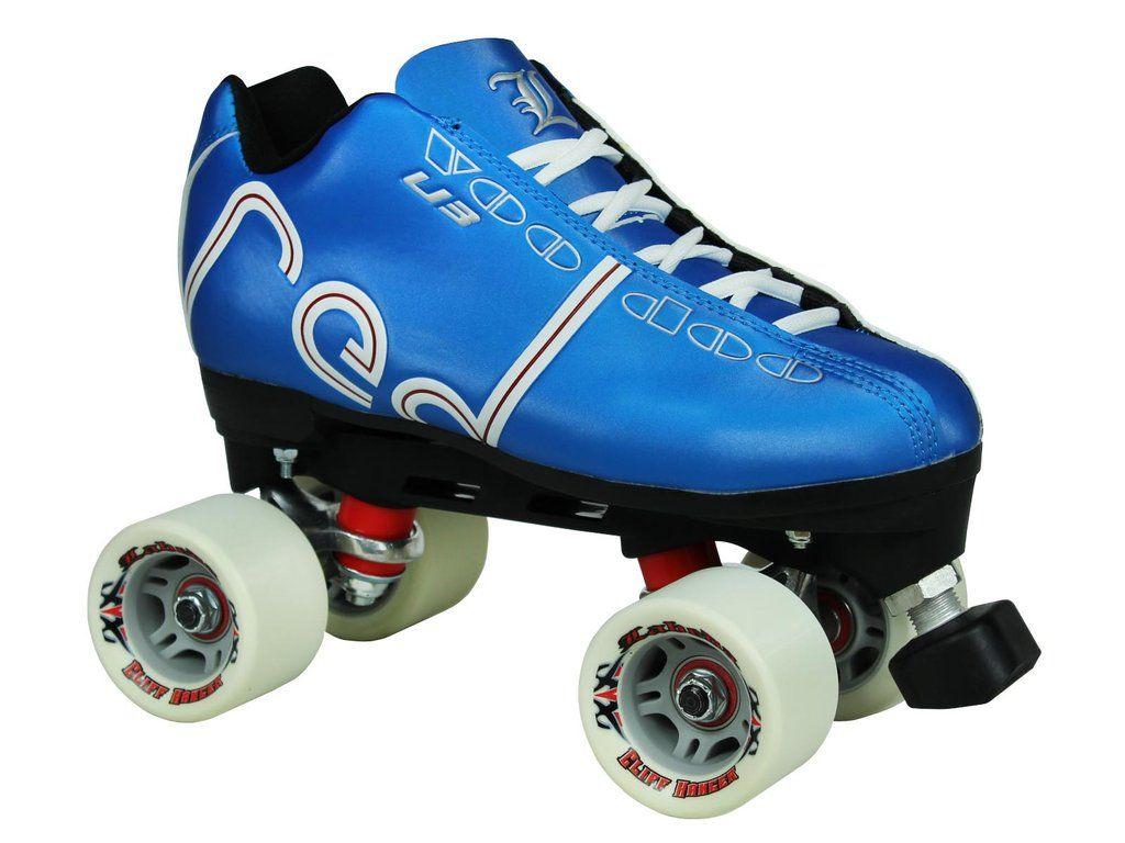 Labeda Stilleto White Quad Speed Skate Wheel Skate Made In USA 1 Wheel