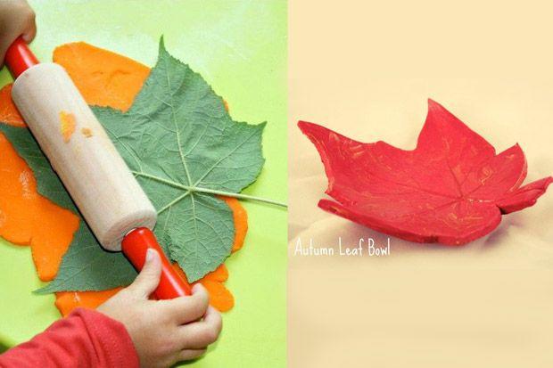 spesso Attività manuali per bambini: lavoretti creativi con le foglie ZG16