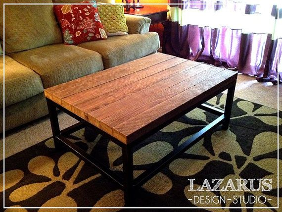 Reclaimed Pine Coffee Table by LazarusDesignStudio on Etsy, $700.00