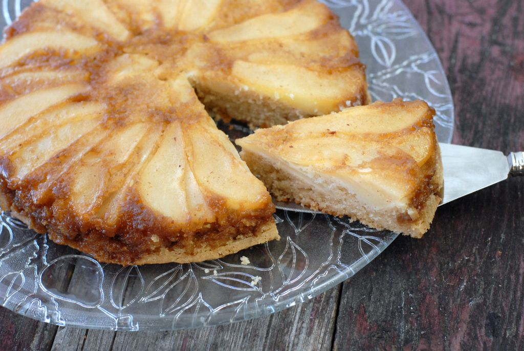 Caramelized Pear Upside Down Cake and Homemade Coffee Liqueur | Boulder Locavore