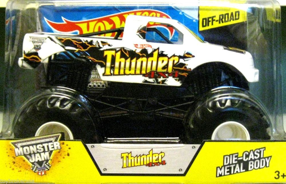 Thunder 4x4 monster truck : Q park soho