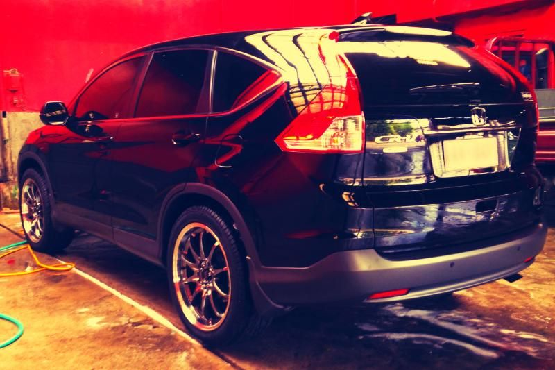 2014 crv stock height using 25545r20 larger than the