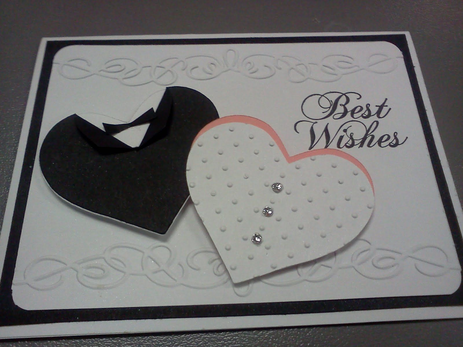 Wedding Card Making Ideas Part - 38: Stampin Up Wedding Card Ideas | Wedding Card