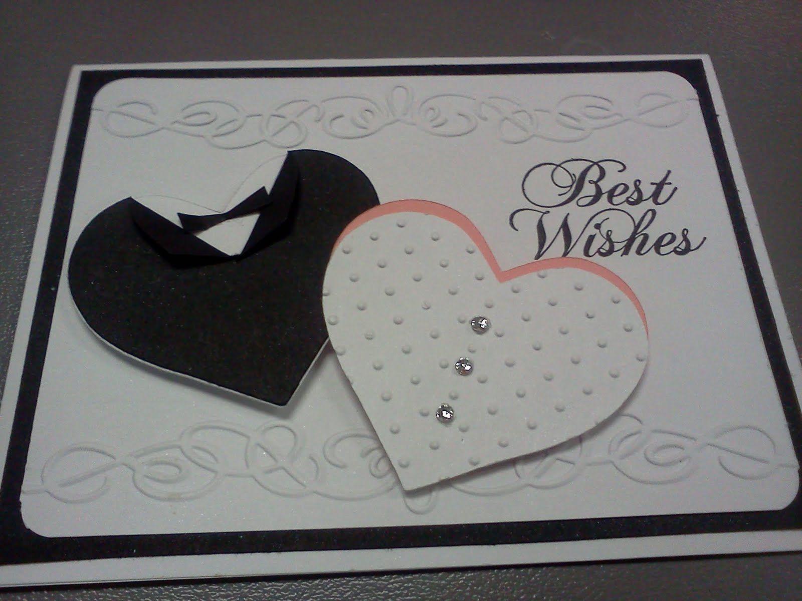 Adorable homemade wedding card handmadecardscom wedding