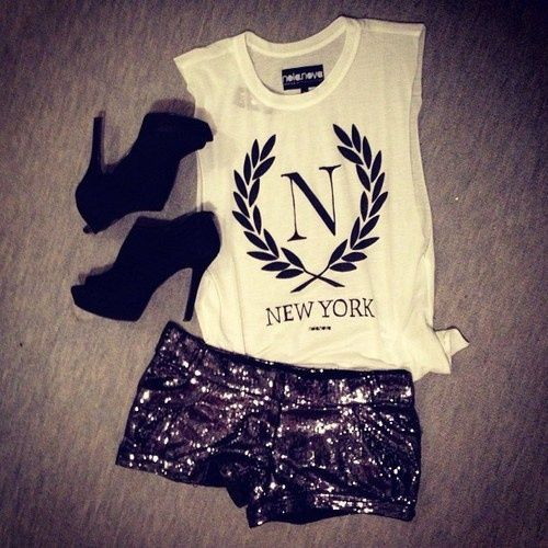 Trendy party/night outfit