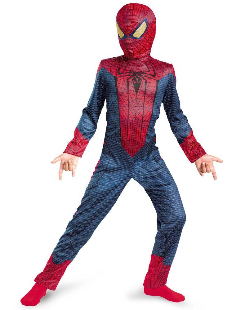 NEW The Amazing Spider-Man Classic Child Costume,