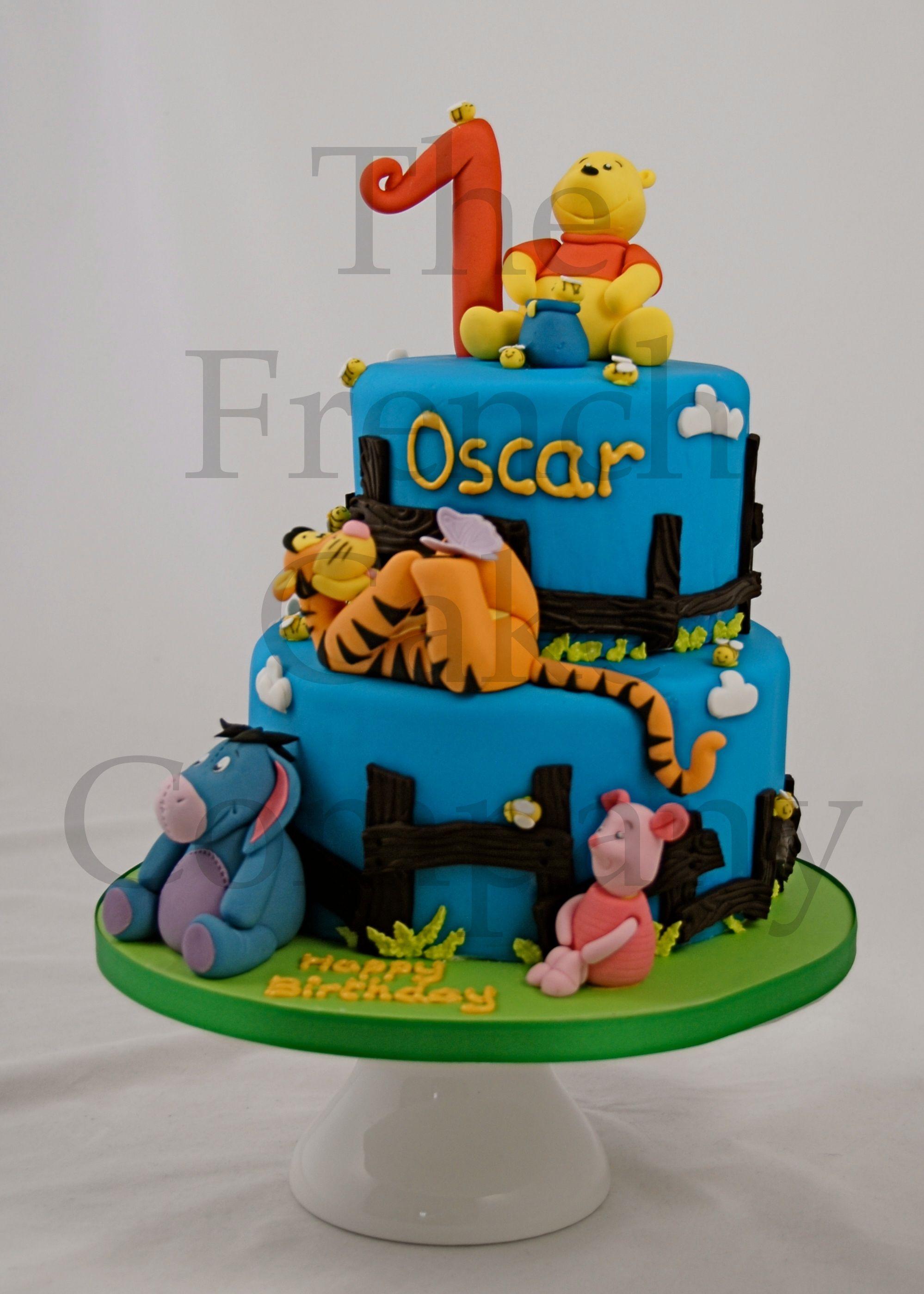 Très Birthday Cake Toddler Winnie l'Ourson - Gateau D'anniversaire Pour  JJ92