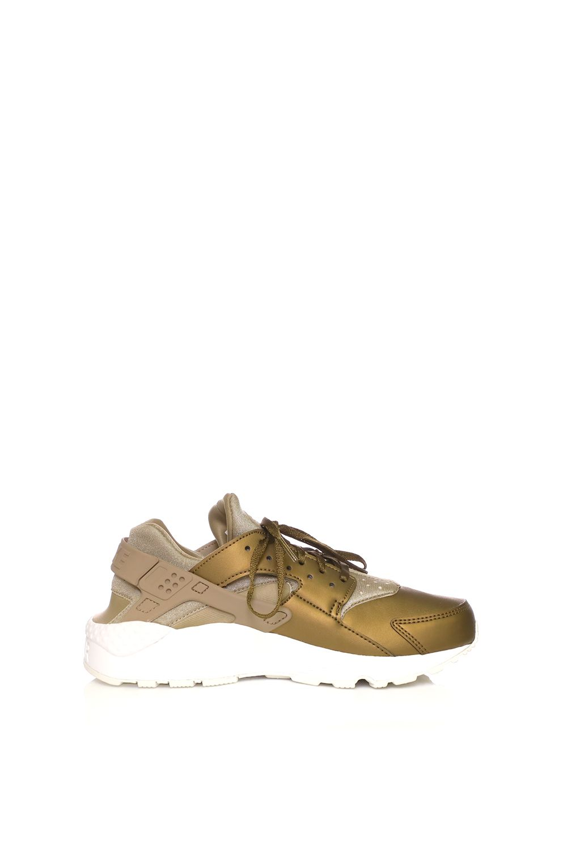 NIKE – Γυναικεία αθλητικά παπούτσια NIKE AIR HUARACHE RUN PRM TXT χρυσά  Γυναικεία Παπούτσια  ee9875a79d8
