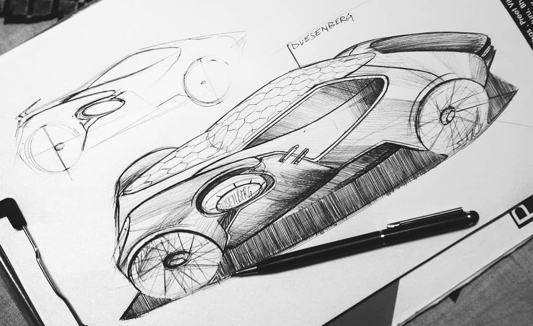 My entry for #duesenbergdesignchallenge I'm gonna render this probably soon. #dusenbergchallenge #duesenbergdesignchallenge #design…