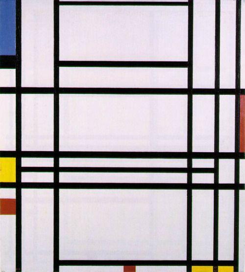 lonequixote:   Composition No. 10 by Piet Mondrian... | Lone Quixote