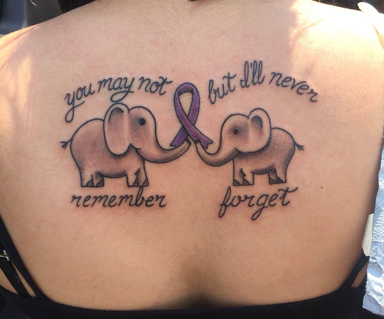 b25b2ca15cafd Tattoo for my Grandma with Alzheimer's. @angelamaldonado Tattoo done by  Leejohn Dean @ Magic Rooster Tattoo in Mauldin, SC