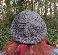 a35ea685261 Ravelry  Diamond Lattice Hat pattern by Jayne Linton
