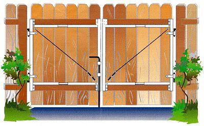 Wood Driveway Gate Plans diy wood frame greenhouse plans DIY