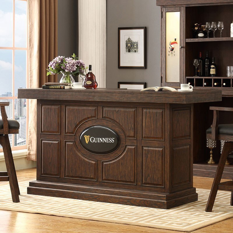 Buy Guinness 82 Inch Home Bar At Furniturepick Store Outfit Your Home With The Guinness Collection By Eci Furniture Home Bar Sets Bar Furniture Bars For Home
