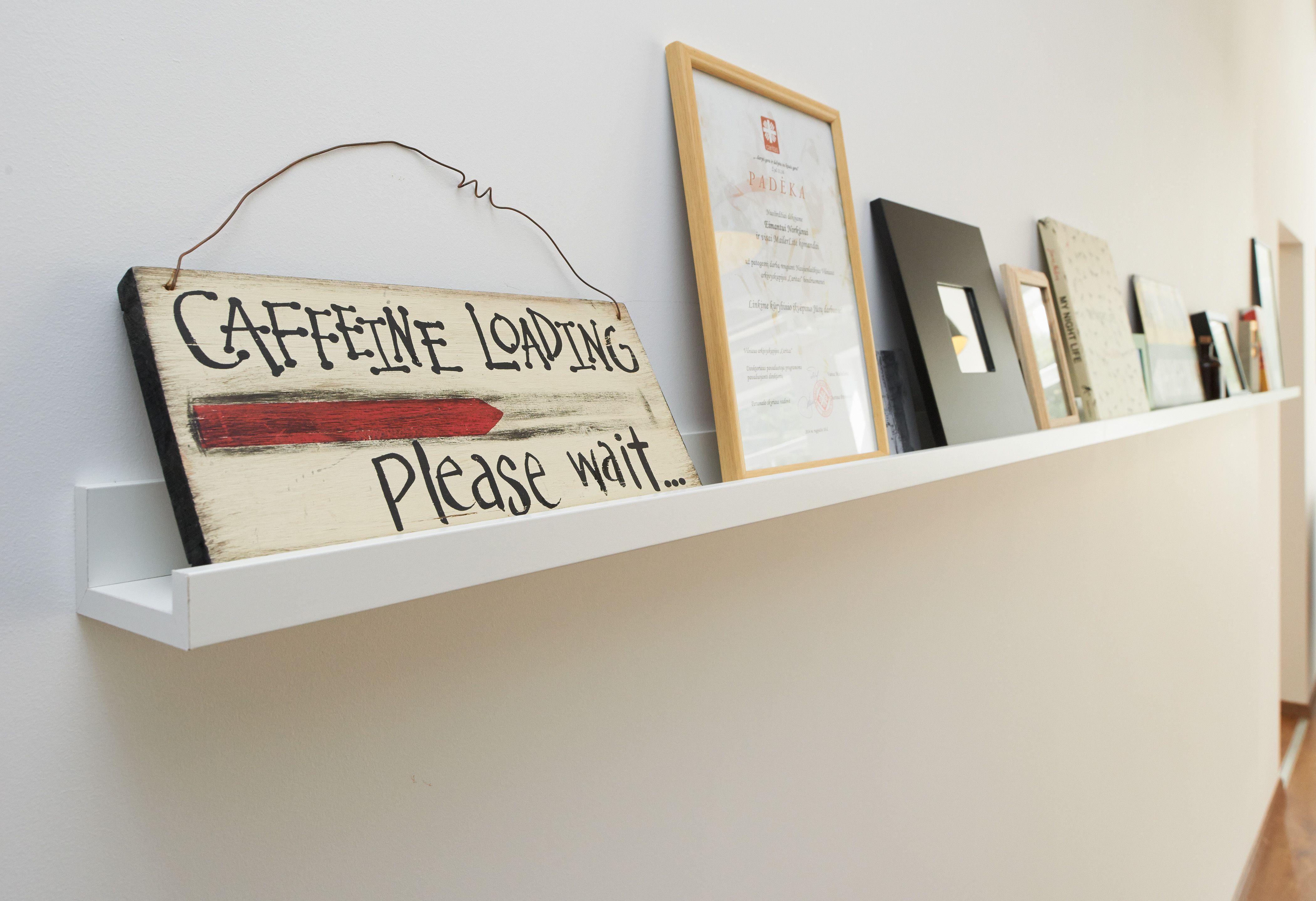 Coffee loading. Please wait. #startuplife #office #design